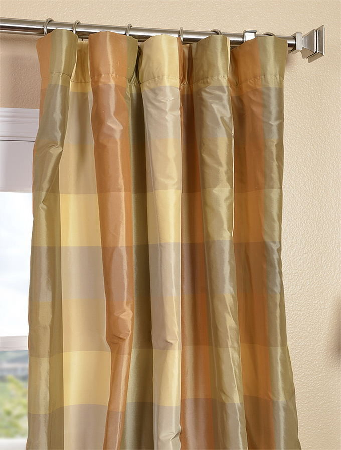 Dupioni Silk Polepocket Drape The Best 28 Images Of Gray Silk Curtains Yellow Silk Dupioni