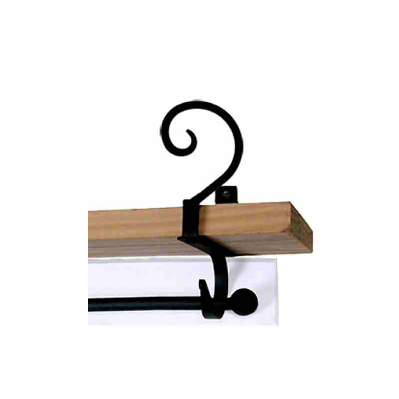 Scroll Shelf Brackets