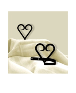 Heart Curtain Tie Backs