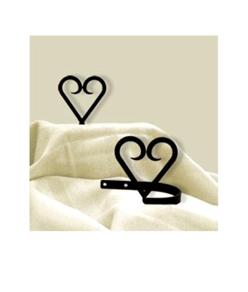 Heart Curtain Tie Backs